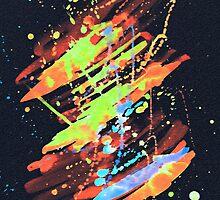 Neon blast by durva