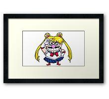 Wario Moon Framed Print