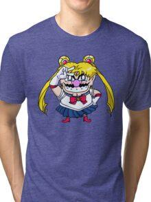 Wario Moon Tri-blend T-Shirt
