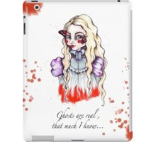 Edith and the Butterflies iPad Case/Skin