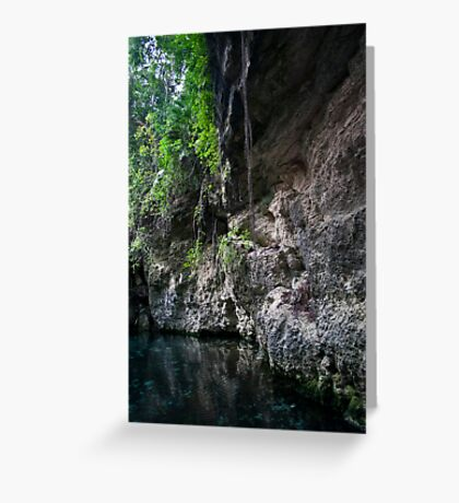 Xcaret Park - Mexico Greeting Card