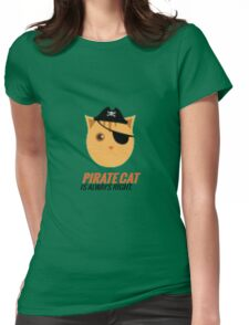 Pirate Cat is Always Right T-Shirt