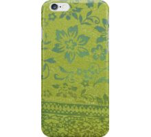 Green Silk iPhone Case/Skin