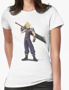 Smash 4 Cloud Artwork Womens Fitted T-Shirt