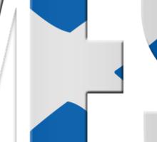 Scottish flag  yes  Sticker