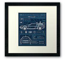 Time Displacement Machine Framed Print