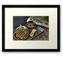 Coffee and Toast 3 Framed Print