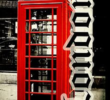 Red London Telephone Box Case by Jonicool