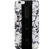 Harry Styles B/W Flowers iPhone Case/Skin