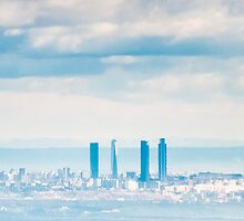 Madrid Skyline by Anibal Trejo