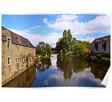 Reflections of Stamford Poster