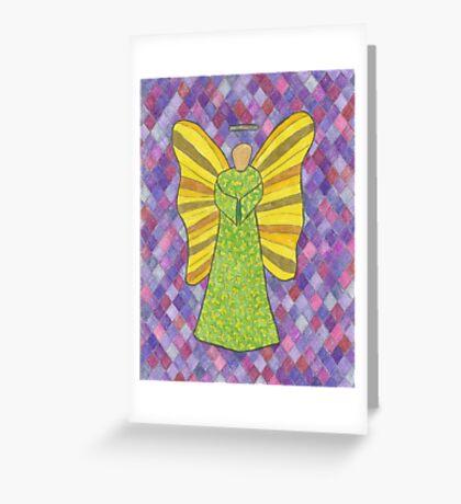Military Angel Greeting Card