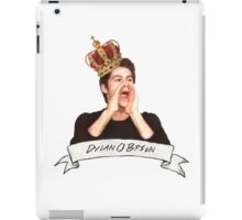Dylan O'Brien OUR KING iPad Case/Skin