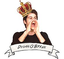 Dylan O'Brien OUR KING Photographic Print