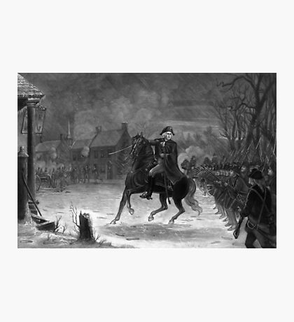 Washington At The Battle Of Trenton  Photographic Print
