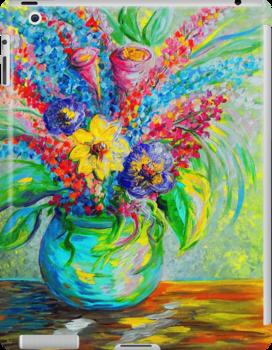 Spring in a Vase by EloiseArt