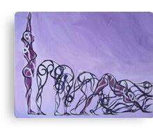 Yoga - Panel 1 Canvas Print