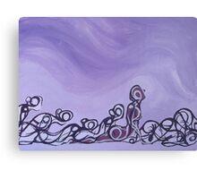 Yoga - Panel 2 Canvas Print