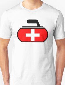 Switzerland Curling T-Shirt