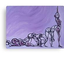 Yoga - Panel 3 Canvas Print