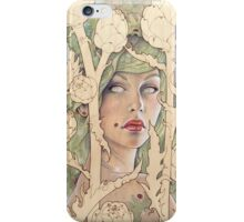 Cynara (Artichoke Nymph) iPhone Case/Skin