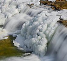 Frosty Falling Water by Kenneth Keifer