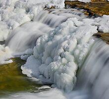 Frosty Falling Water by Kenneth Keifer