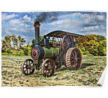 """1894 Burrell Engine """"Duke of Windsor Poster"""