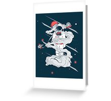 Gravity Greeting Card