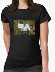 Harrison 'Pepe' Ford the Smug Frog - Hello 4chan Womens Fitted T-Shirt