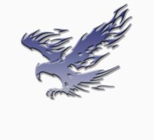 Tribal Eagle blue version by thatstickerguy