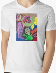 """Little Dragon"" by Richard F. Yates Mens V-Neck T-Shirt"