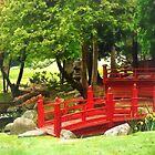 Japanese Bridge by Susan Savad