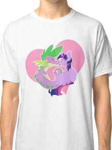 Twilight and Spike Smooch Classic T-Shirt