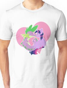 Twilight and Spike Smooch Unisex T-Shirt