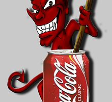 Coke Is The Devil by TheFoxFromHell