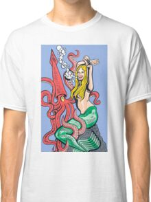 Mermaid Pinup Classic T-Shirt