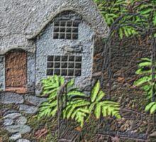 Cozy Garden Cottage Sticker