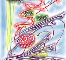 """""""The Maniac Slapper Strikes!"""" by Richard F. Yates by richardfyates"""