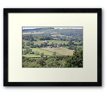 country house Framed Print