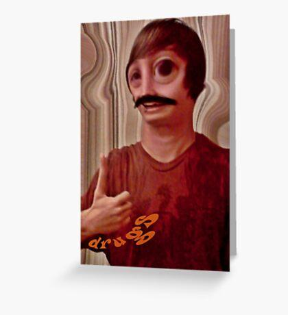 Drugs Greeting Card