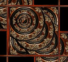 Ornament Wood Composition by DFLCreative