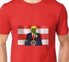 President Donald 'Pepe' Trump the Smug Frog Unisex T-Shirt