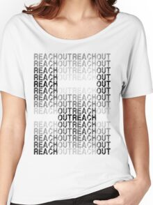 Reach out Outreach Women's Relaxed Fit T-Shirt