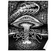 Magic mushroom is watching Poster