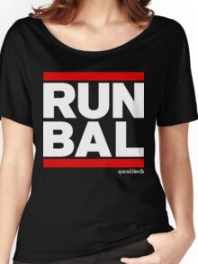 Run Baltimore BAL (v2) Women's Relaxed Fit T-Shirt