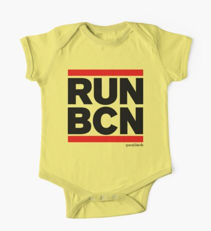 Run Barcelona BCN (v1) One Piece - Short Sleeve