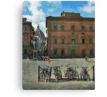 Playing to paint Firenze Canvas Print