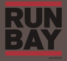 Run Bay Area (v1) Baby Tee