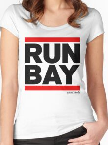 Run Bay Area (v1) Women's Fitted Scoop T-Shirt